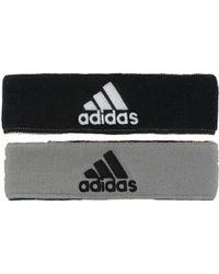 "adidas - Interval Reversible Headband - 2"" - Lyst"