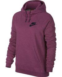 Nike | Sportswear Heatherized Rally Hoodie | Lyst