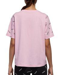 777ce44cefa adidas Originals Big Trefoil T-shirt in Yellow - Lyst
