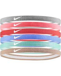 Nike - Swoosh Sport Headbands – 6 Pack - Lyst c398a19040f