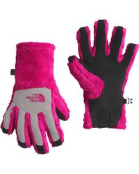 The North Face   Girls' Denali Thermal Etip Gloves   Lyst