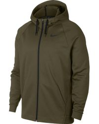 43a3c034ab Lyst - Nike Therma-sphere Water Repellent Jacket in Gray for Men