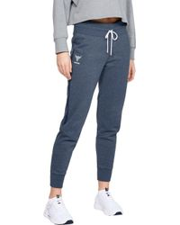 Under Armour - Project Rock Taped Fleece Pants - Lyst