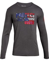 Under Armour - Freedom Protect This House Long Sleeve Shirt - Lyst