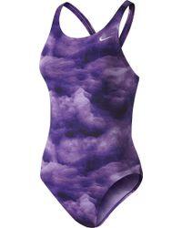Nike - Cloud Fast Back Swimsuit - Lyst