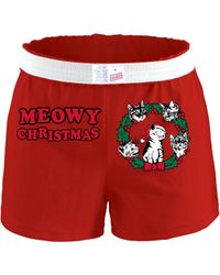 Soffe - Holiday Graphic Cheer Shorts - Lyst