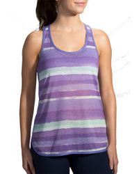 Brooks | Ghost Racerback Running Tank Top | Lyst