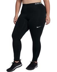 Nike - Plus Size Pro Training Tights - Lyst