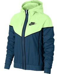 d5df9e74a6 Lyst - Nike Sportswear Windrunner Jacket in Blue
