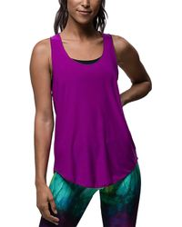 Onzie - Glossy Flow Tank Top - Lyst