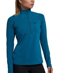Nike - Pro Warm Half-zip Running Shirt - Lyst