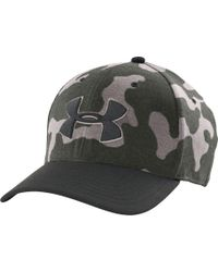 4b06778d661 Lyst - Under Armour Storm Closer Hat in Green for Men