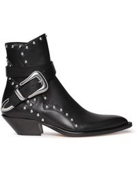 DIESEL - Campero Boots With Studs - Lyst