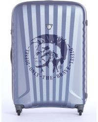 DIESEL - Medium luggage With Mohawk Print Detail - Lyst