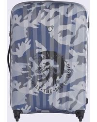DIESEL - Medium luggage With Camou Print - Lyst