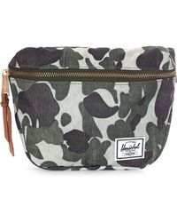 Herschel Supply Co. - Men's Fifteen Hip Pack Frog Camo - Lyst