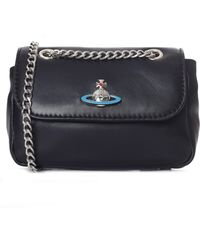 Vivienne Westwood - Women's Emma Small Purse With Chain Black - Lyst