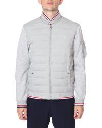Polo Ralph Lauren - Double Knit Zip Through Jacket - Lyst