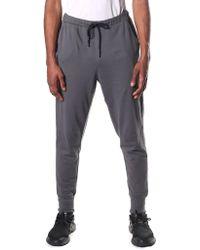 Y-3 - Men's Logo Cuff Pants Solid Grey - Lyst