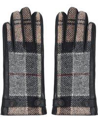 Barbour Women's Golloway Glove Winter Tartan/black