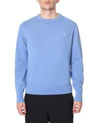 Polo Ralph Lauren - Crew Neck Pullover Sweat Top - Lyst