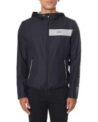 BOSS Athleisure - Jeltech 1 Men's Zip Through Hooded Jacket Jeltech Black - Lyst
