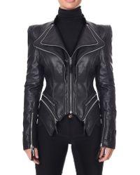Forever Unique - Women's Pulp Faux Leather Jacket Black - Lyst