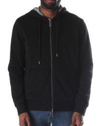 Armani Jeans - Zip Through Men's Hooded Sweat Top Black - Lyst