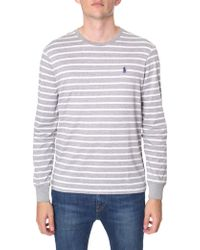Polo Ralph Lauren - Crew Neck Long Sleeve Tee - Lyst