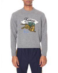 KENZO - Men's Jumping Tiger Jumper - Lyst