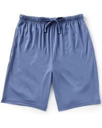 Hart Schaffner Marx - Solid Pajama Shorts - Lyst