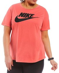 Nike - Sportswear Plus Essential Tee - Lyst