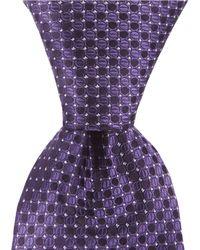 Murano - Big & Tall Mini Circles Traditional Silk Tie - Lyst