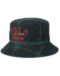 71d12109e18 Lyst - Polo Ralph Lauren Beachside Bucket Hat in Red for Men