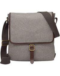 Fossil - Buckner Fabric Tablet City Bag - Lyst