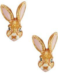 Kate Spade - Desert Bunny Earrings - Lyst