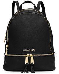 MICHAEL Michael Kors - Rhea Zip Medium Backpack - Lyst