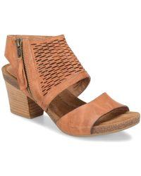 Söfft - Milan Block Heel Sandals - Lyst