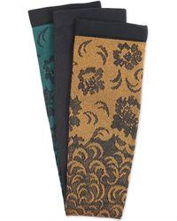 Comfortiva - Compression Socks Damask 3-pack - Lyst