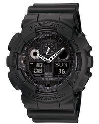 G-Shock   Big Face Multifunction Combi Watch   Lyst