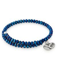 ALEX AND ANI - Deep Space Brilliance Wrap Bracelet - Lyst