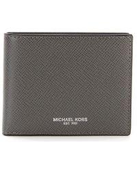 Michael Kors - Harrison Slim Billfold Wallet - Lyst