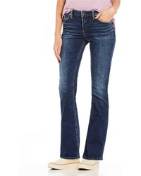 Silver Jeans Co. - Aiko Slim Bootcut Jeans - Lyst
