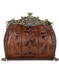 Patricia Nash - Burnished Tooled Collection Carmonita Frame Bag - Lyst