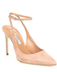Brian Atwood - Vicky Suede Dress Pumps - Lyst