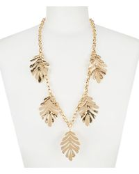Kate Spade - New Leaf Statement Necklace - Lyst