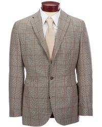 Hart Schaffner Marx - Windowpane Suit Separates Blazer - Lyst