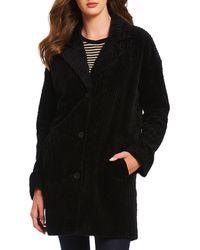 Eileen Fisher - Classic Collar Coat - Lyst
