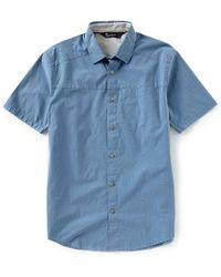Under Armour - Fish Legacy Solid Short-sleeve Woven Shirt - Lyst