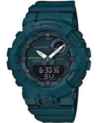 G-Shock - Green Mid-size Ana Digi Watch - Lyst